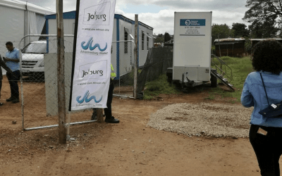 Households now serviced in Zamimpilo Informal Settlement