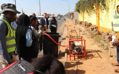 Pipe Replacement Programme Across The City Of Johannesburg
