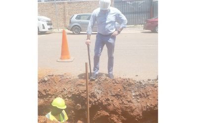 Jeppestown Sewer Pipe Replacement Phase 4
