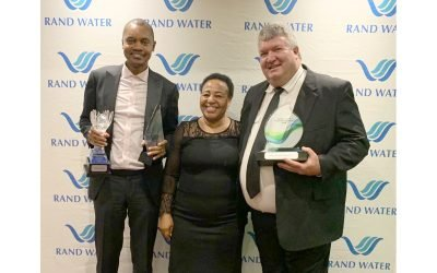 JW SCOOPS THREE AWARDS AT THE RAND WATER FORUM AWARDS