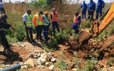 REMOVAL OF ILLEGAL WATER CONNECTIONS TO THE JW LENASIA WATER SUPPLY SYSTEM